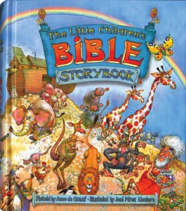 The Little Childrens Bible Story Book